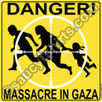 gaza massacre t shirt