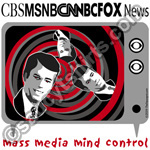 mass media mind control t-shirt