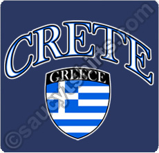 crete greece t shirt