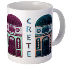 chania crete greece mug