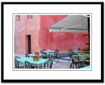 corfu framed photography