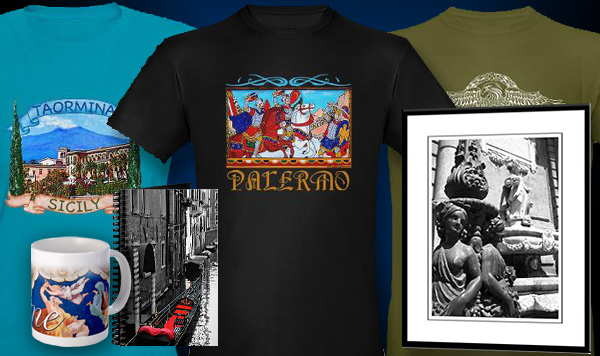 Italy T-shirts and Italian themed gifts