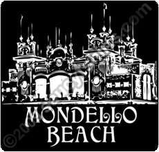 mondello beach t shirt