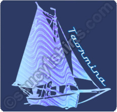 sailboat taormina t shirt