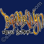 brooklyn graffiti t shirt t-shirt