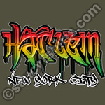 harlem graffiti t-shirt