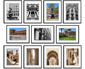 Spain framed prints