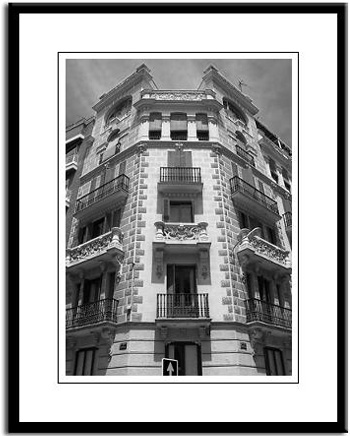 Madrid framed photo photography print