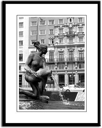 Madrid photo print