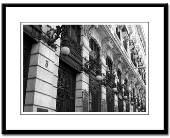 Madrid framed photography