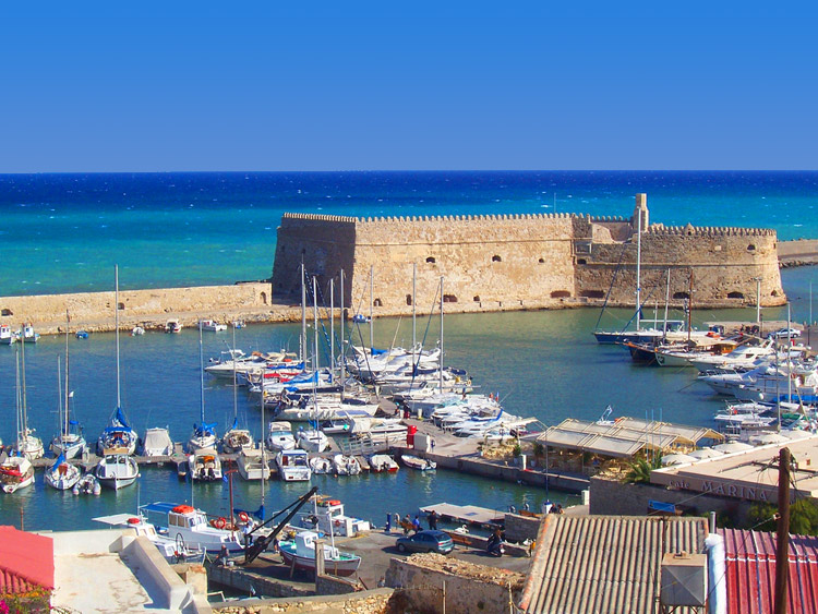old port of heraklion