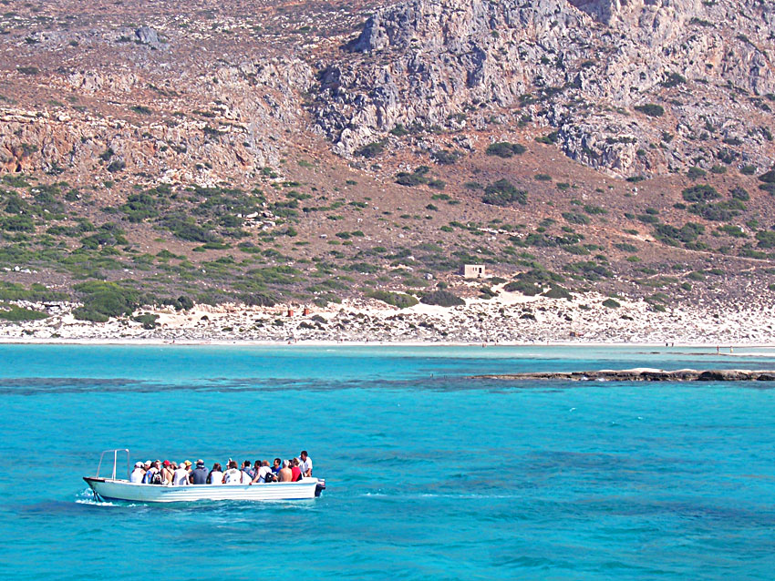 boat ride to balos lagoon