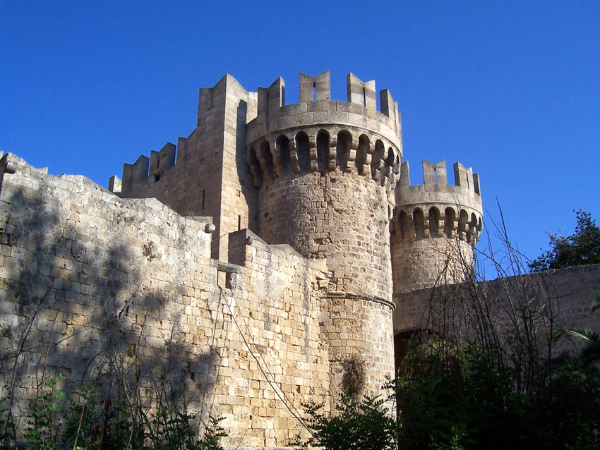 Rhodes Knights Castle